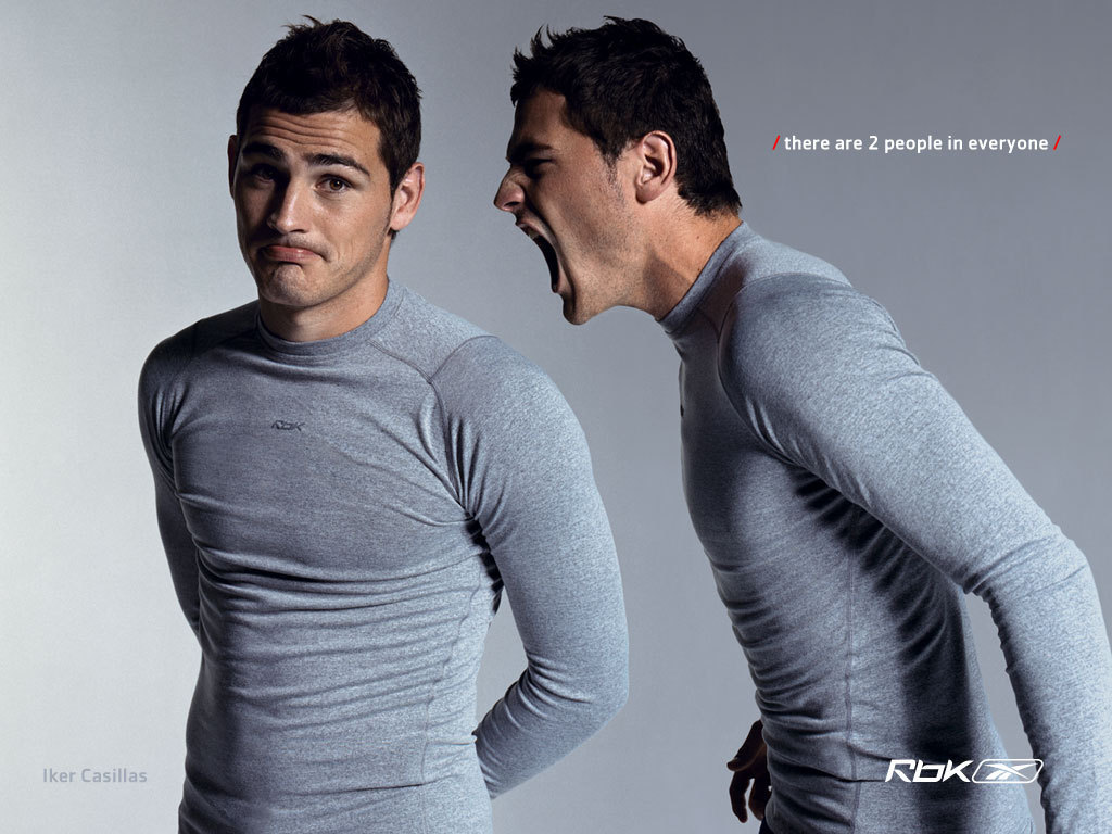 Икер Касильяс в рекламе Reebok
