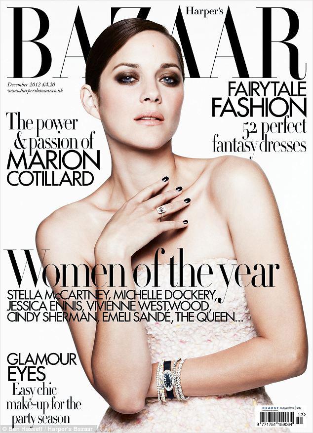 Марион Котийяр для Harper's Bazaar UK