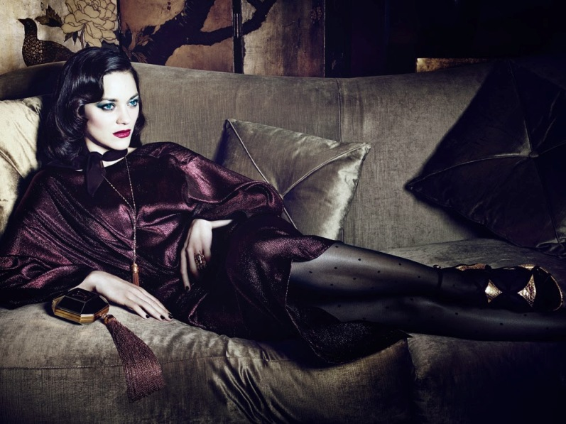 Марион Котийяр для Interview Magazine, март 2014
