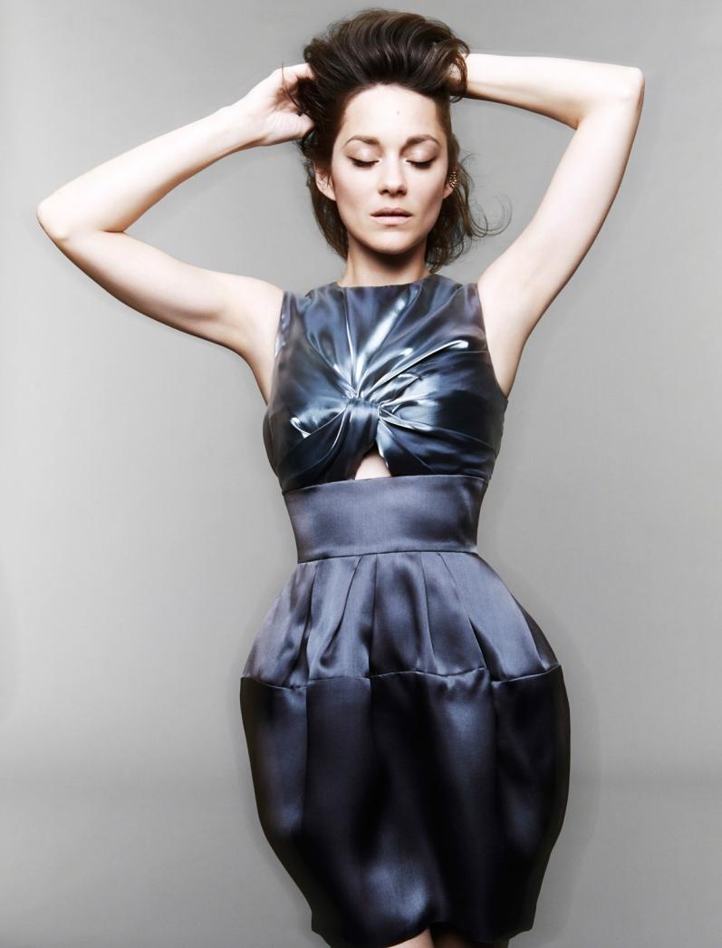 Марион Котийяр в фотосессии Яна Велтерса для Madame Figaro Magazine, май 2014