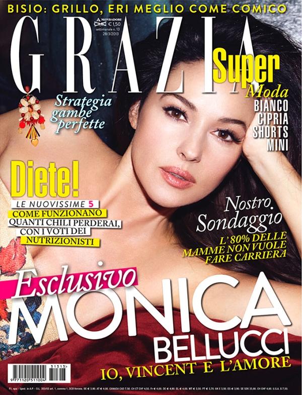 Моника Беллуччи для Grazia Italia, март 2013