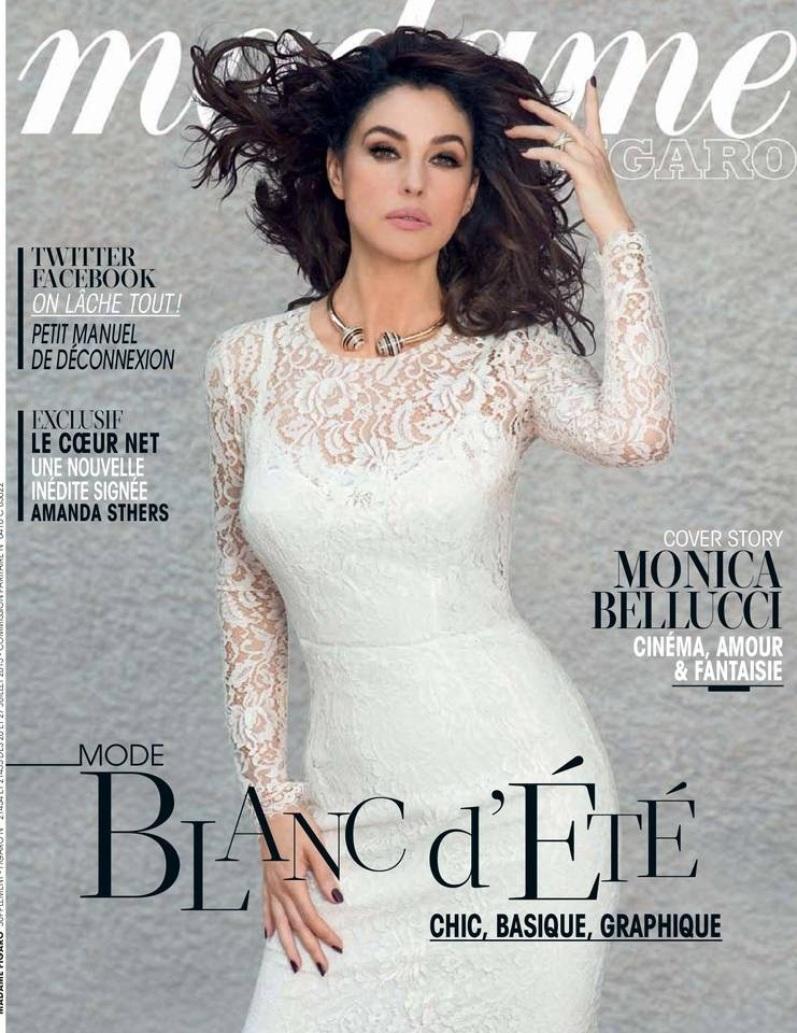 Моника Беллуччи для журнала MADAME FIGARO, июль 2013