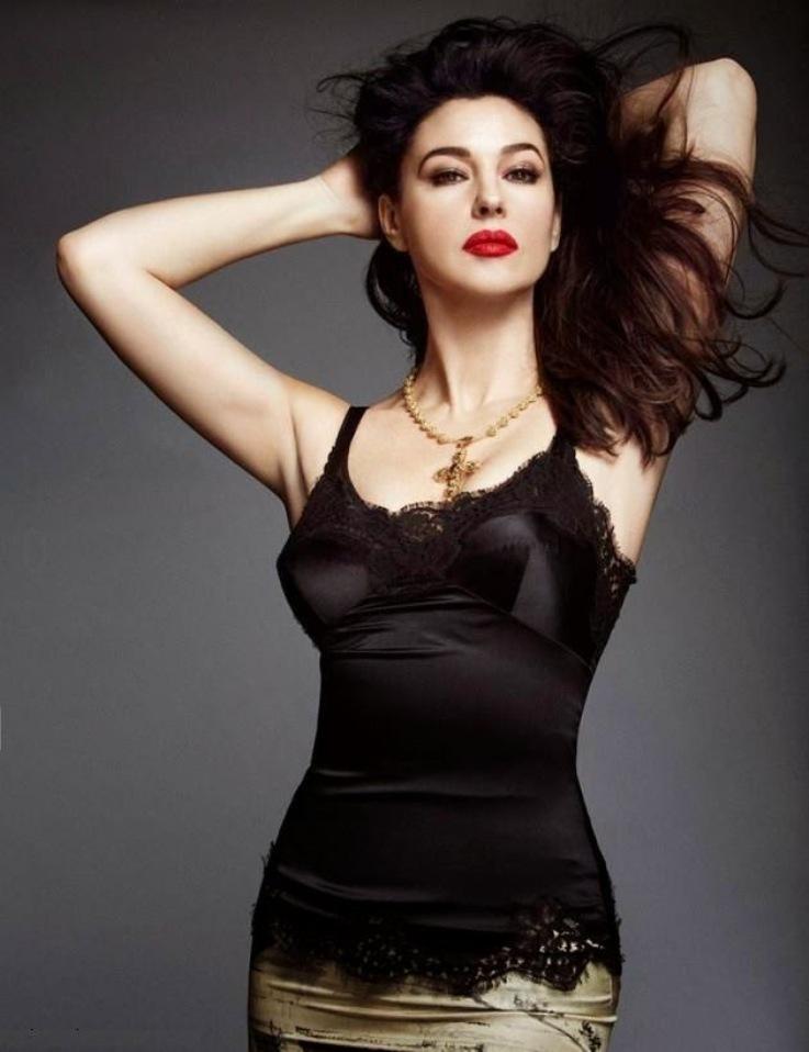 Моника Беллуччи для Woman Madame Figaro, апрель 2014