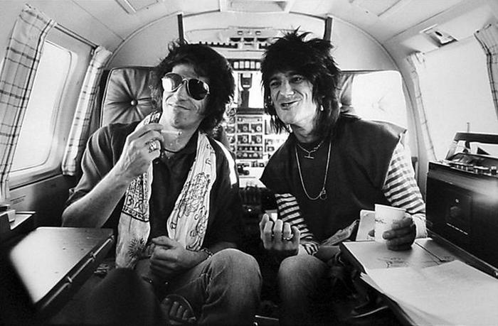 Кит Ричардс и Ронни Вуд, 1979 год