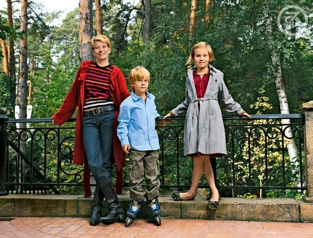 фото детей высоцкой юлии