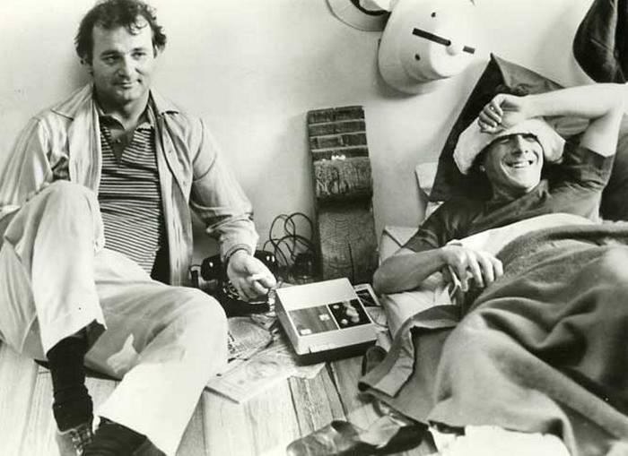 На съемках фильма тутси 1982 год