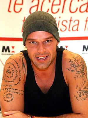 Татуировки Рики Мартина