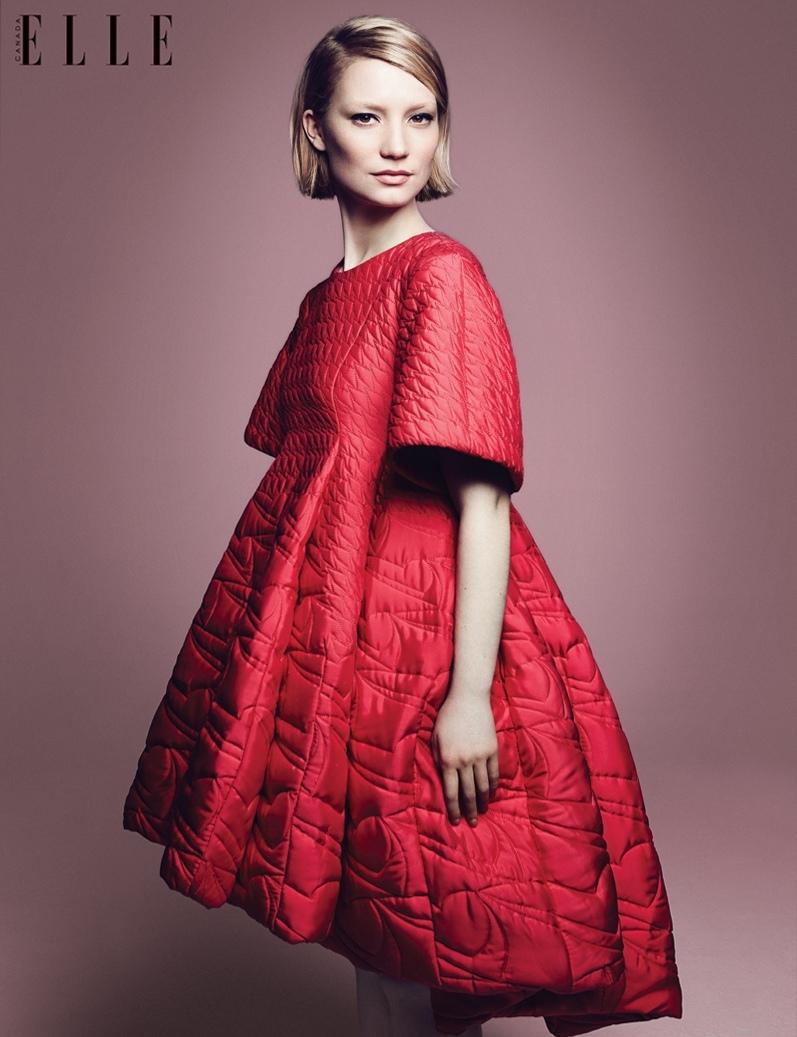 Миа Васиковска для Elle Canada, сентябрь 2014