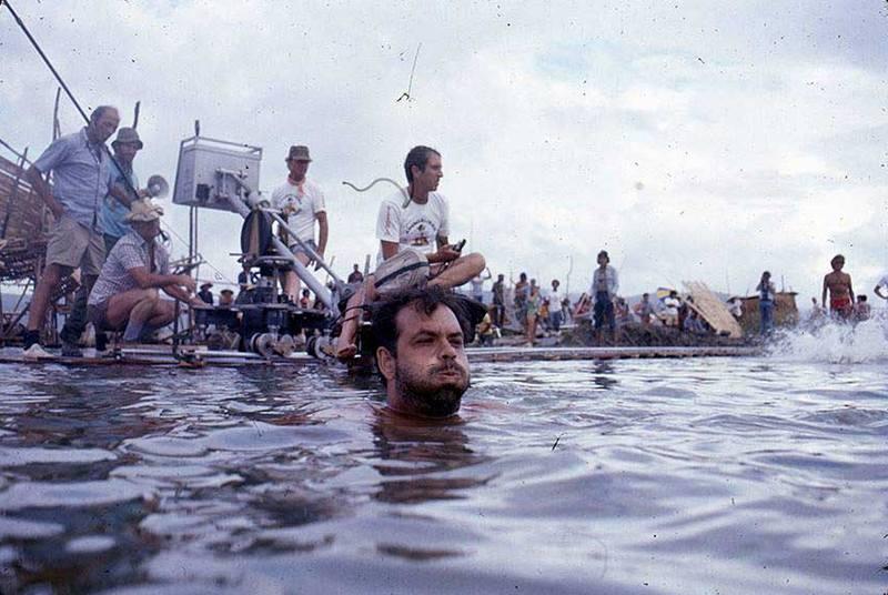 """Френсис Форд Коппола на съемках фильма """"Апокалипсис сегодня"""", 1978 год"""