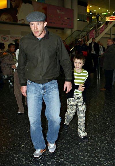 Гай Ричи с сыном