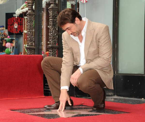 Звезда Хавьера Бардема на Аллее славы в Голливуде