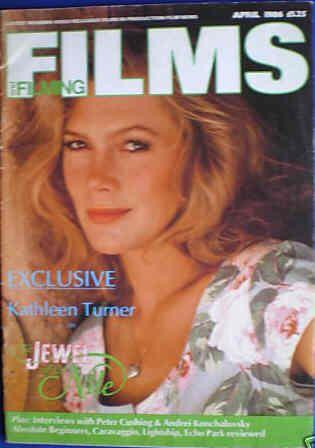Кэтлин Тернер на обложках журналов