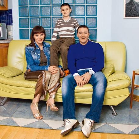 Семья Кирилла Андреева