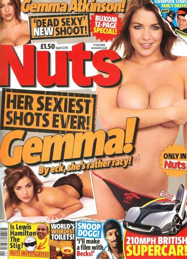 Джемма Аткинсон в журнале Nuts