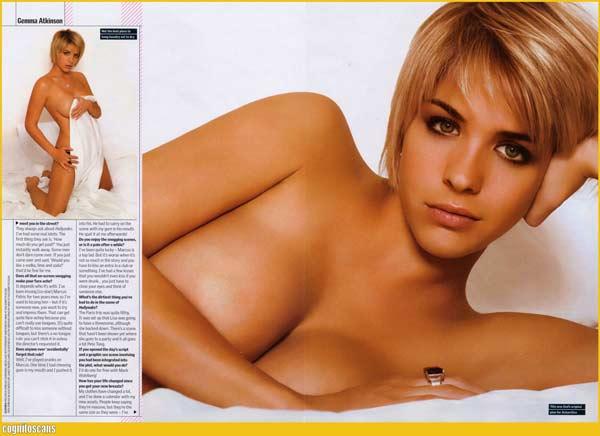 Джемма Аткинсон в журнале Maxim