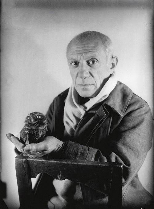 Пабло Пикассо и сова