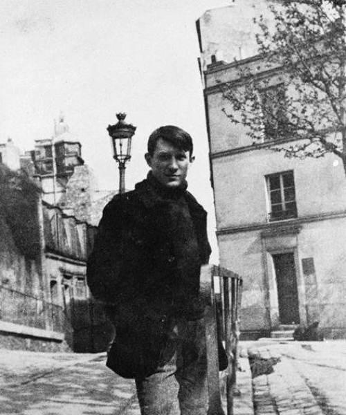 Пабло Пикассо в молодости