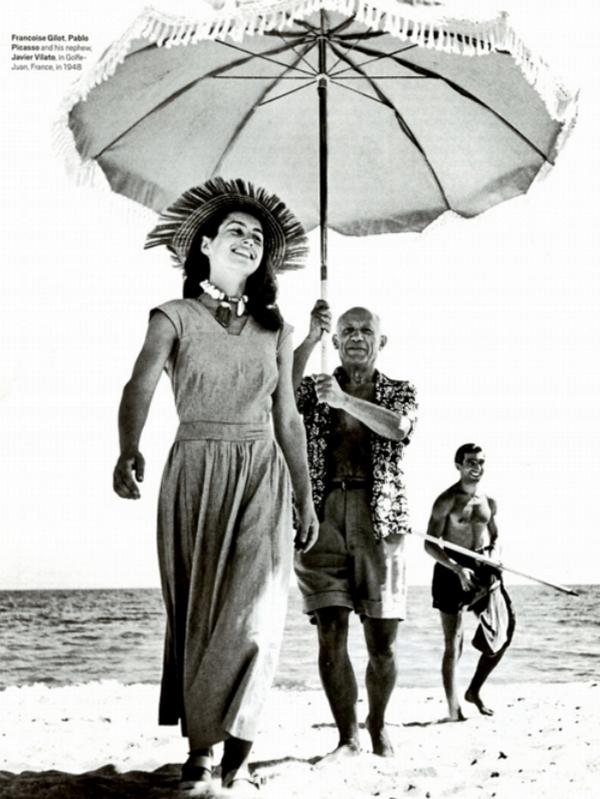 Франсуаза Жило и Пабло Пикассо, 1948 год
