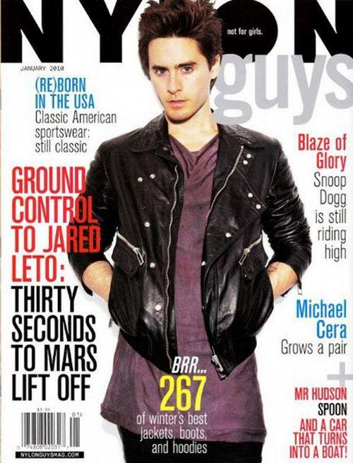 Джаред лето на обложках журналов
