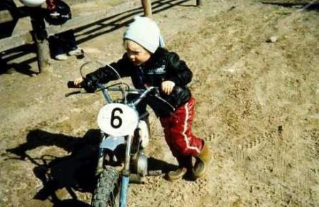 Кими Райкконен в детстве и юности