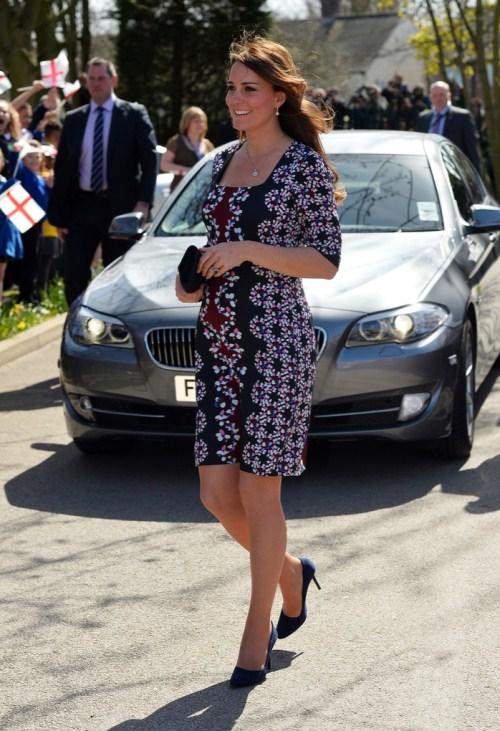 Стиль беременной Кейт Миддлтон