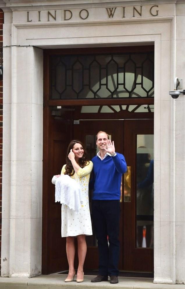Дочь Принца Уильяма и Кэтрин