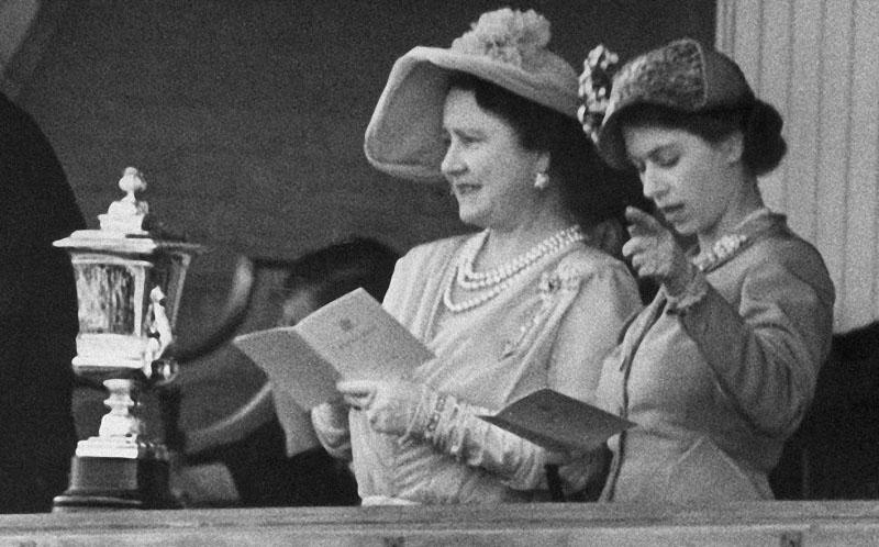 Биография Елизаветы II в фото