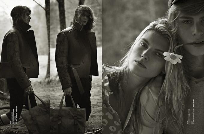 Марина Линчук в Dsection Magazine