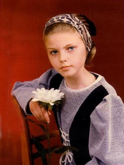 Марина Линчук в детстве