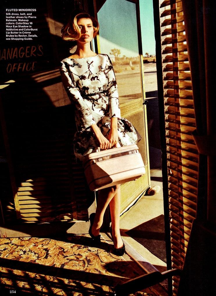 Марина Линчук для Allure Magazine USA, апрель 2013