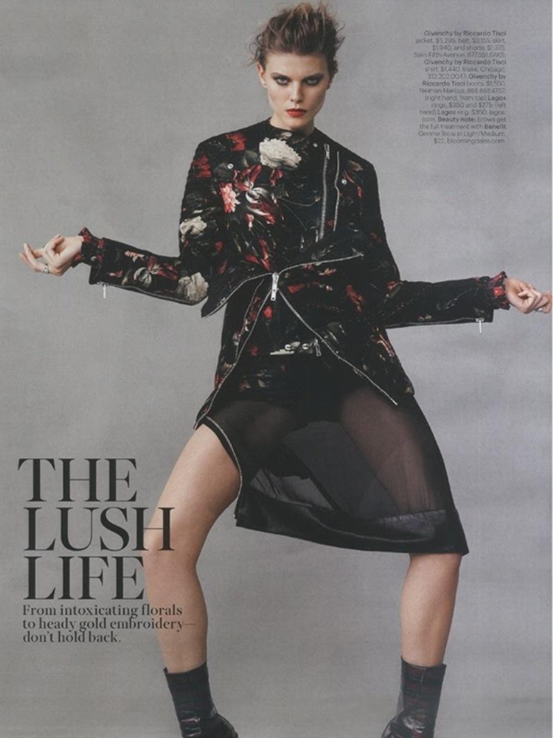 Марина Линчук для журнала W, сентябрь 2013