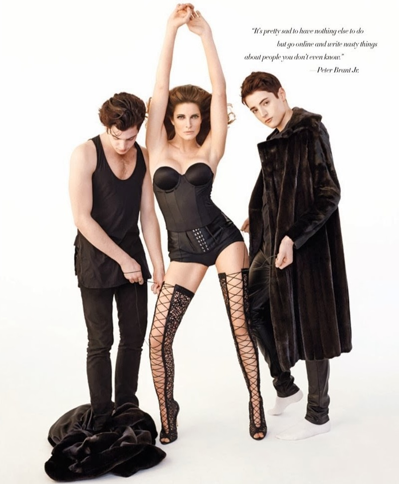 Стефани Сеймур для Harpers Bazaar US, март 2014
