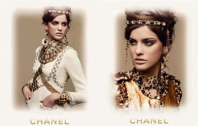 Алехандра Алонса в рекламной кампании Chanel