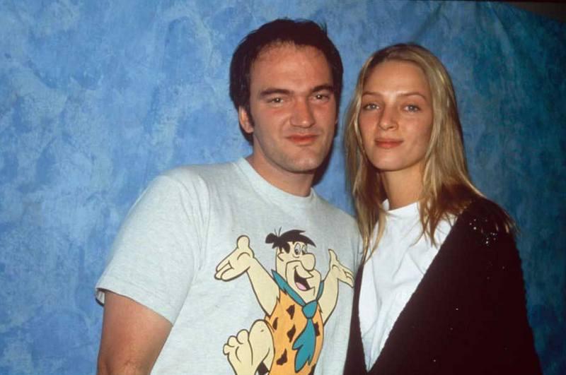 Квентин Тарантино и Ума Турман, 1995 год