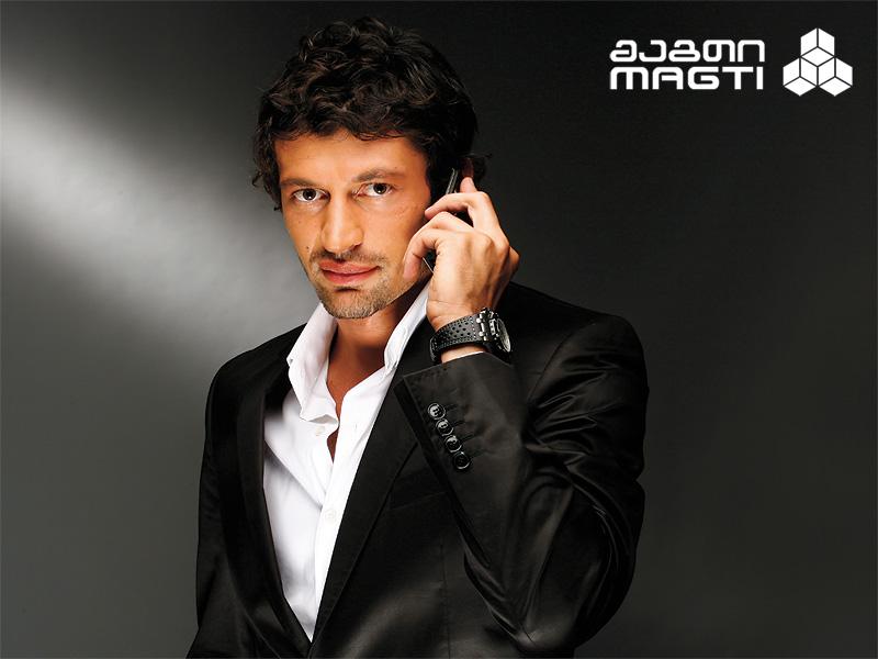 Кахабер Каладзе в рекламе Магти GSM