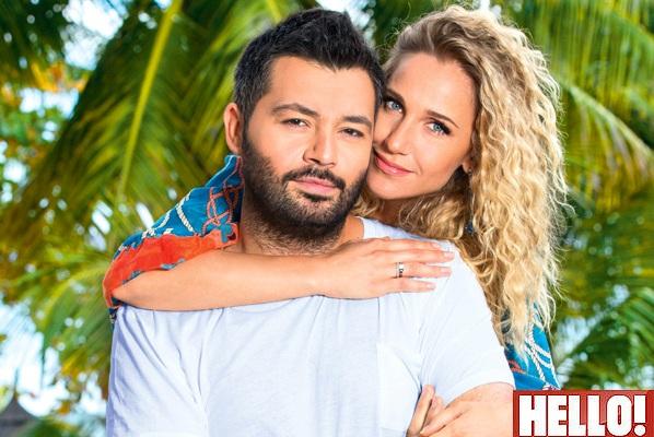 Алексей Чумаков и Юлия Ковальчук для журнала Hello!, сентябрь 2014