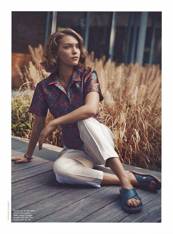 Аризона Мьюз для Vogue Australia, декабрь 2013