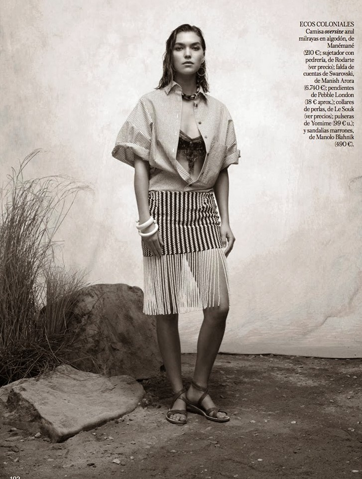 Аризона Мьюз для Vogue, март 2014