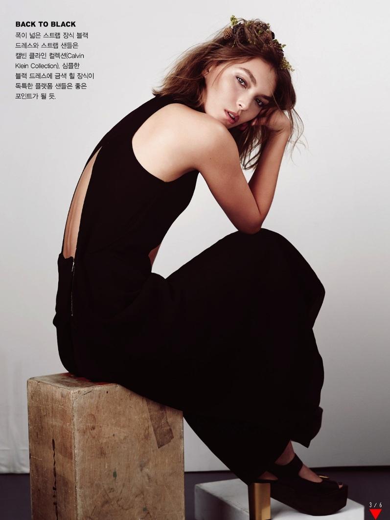 Аризона Мьюз для корейского выпуска журнала VOGUE, декабрь 2013