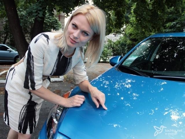 Автомобиль Ольги Фреймут
