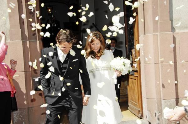 Свадьба Роджера Федерера