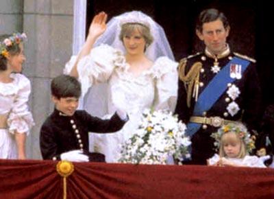 Диана становится принцессой Уэльской