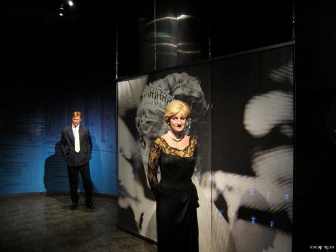 Диана, Принцесса Уэльская в музее мадам Тюссо