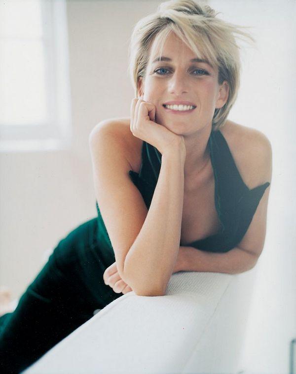 Диана, Принцесса Уэльская в фотосессии Марио Тестино для Vanity Fair, апрель 1997