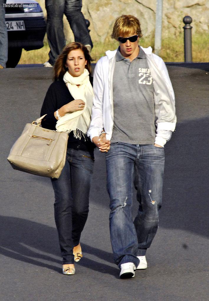 Семья Фернандо Торреса и Олаллы Домингес