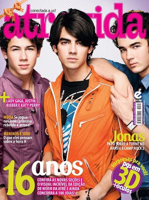 Jonas Brothers на обложках журналов