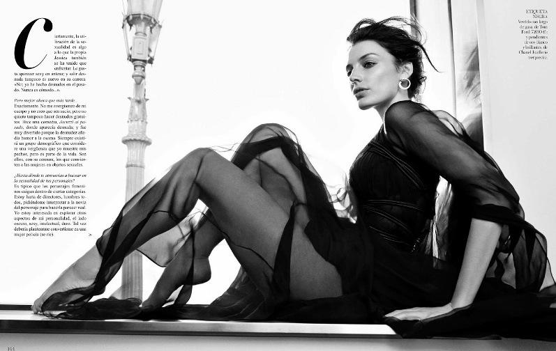 Джессика Паре для испанского выпуска VOGUE Magazine (июнь 2013)