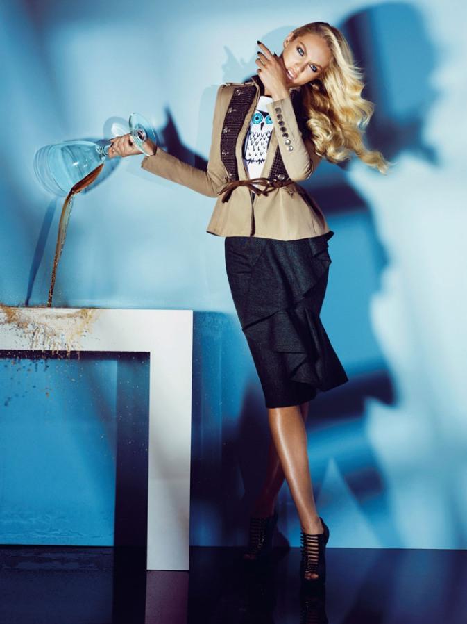 Кэндис Свейнпол  в фотосессии Алекси Любомирски для журнала Numero Tokyo