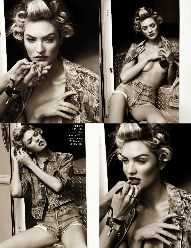 Кэндис Свейнпол для Vogue Magazine, апрель 2013