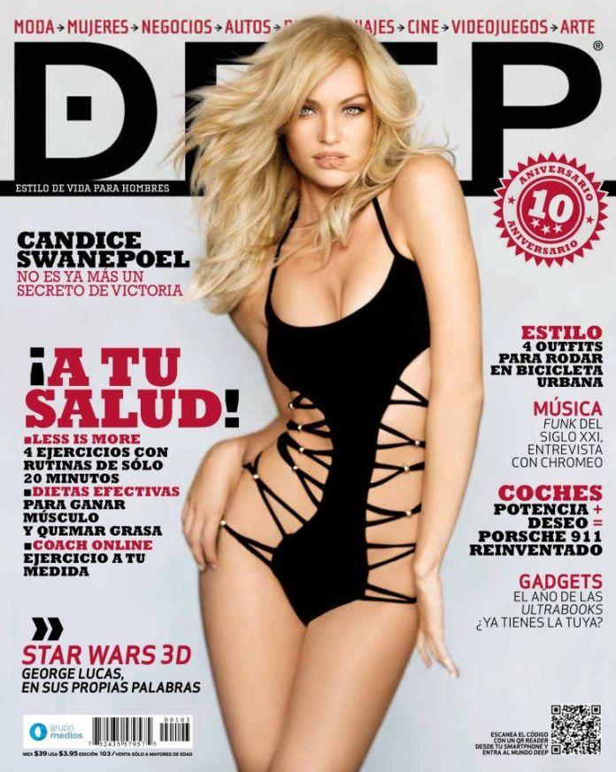 Кэндис Свейнпол на обложках журналов